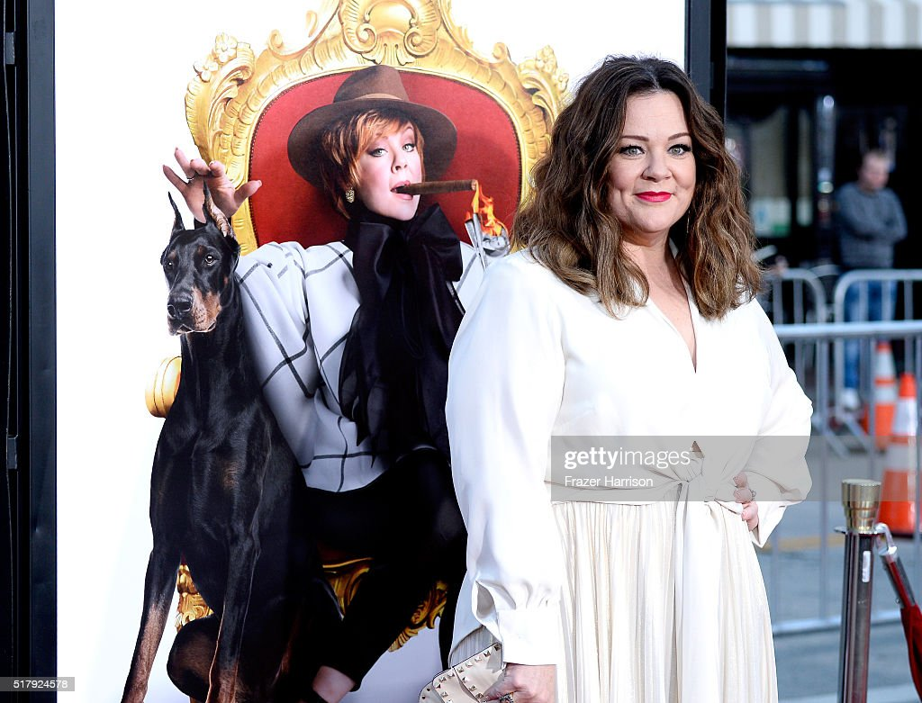 Actress/writer/producer Melissa McCarthy attends the premiere of USA Pictures' 'The Boss' at Regency Village Theatre on March 28, 2016 in Westwood, California.