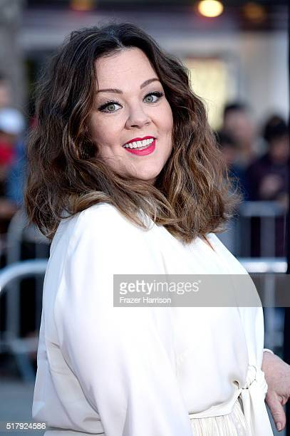 Actress/writer/producer Melissa McCarthy attends the premiere of USA Pictures' The Boss at Regency Village Theatre on March 28 2016 in Westwood...
