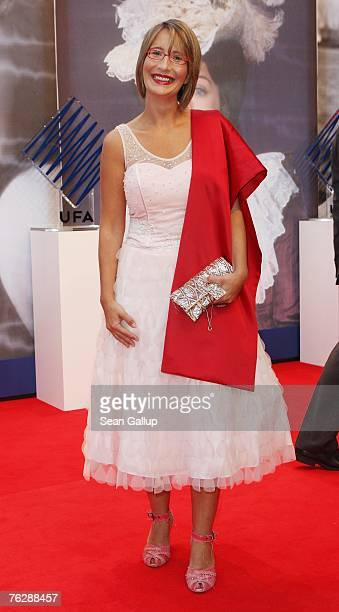 ActressYvonne Willicks attends the UFA 90th Birthday Gala at the Bertelsmann representation August 23 2007 in Berlin Germany