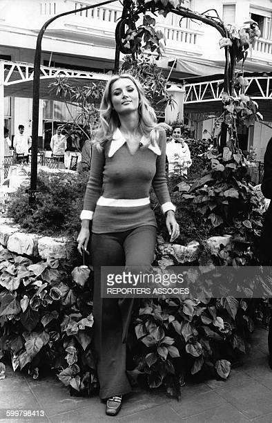 L'actrice américaine Barbara Bouchet circa 1970