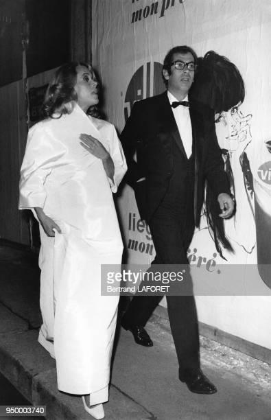 L'actrice américaine Jane Fonda et le réalisateur français Roger Vadim France