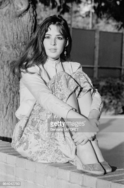 L'actrice américaine Jodi Thelen à Los Angeles en janvier 1982 EtatsUnis