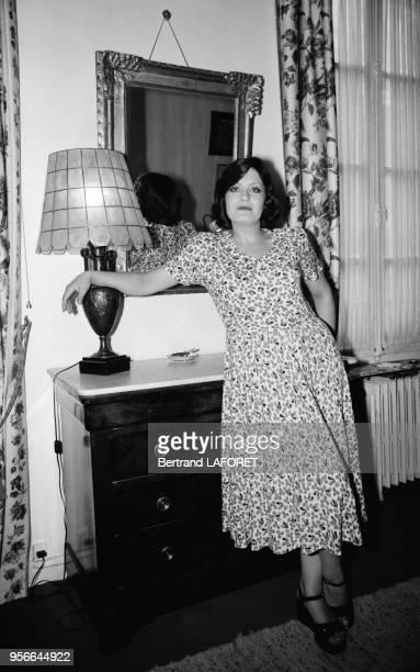 L'actrice Andréa Ferréol en septembre 1974 à Paris France