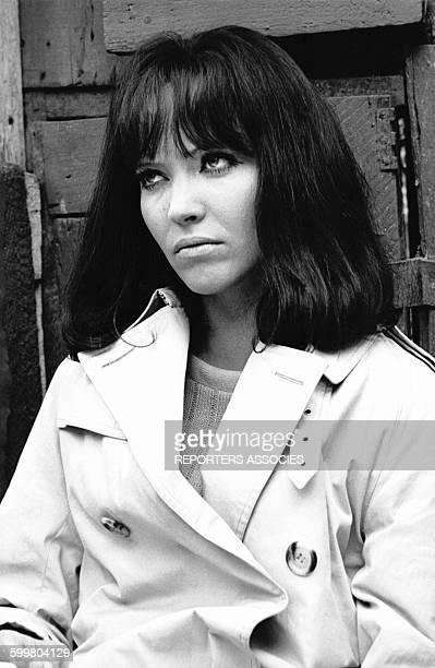L'actrice Anna Karina dans 'Made in USA' un film français réalisé par JeanLuc Godard en 1966 en France