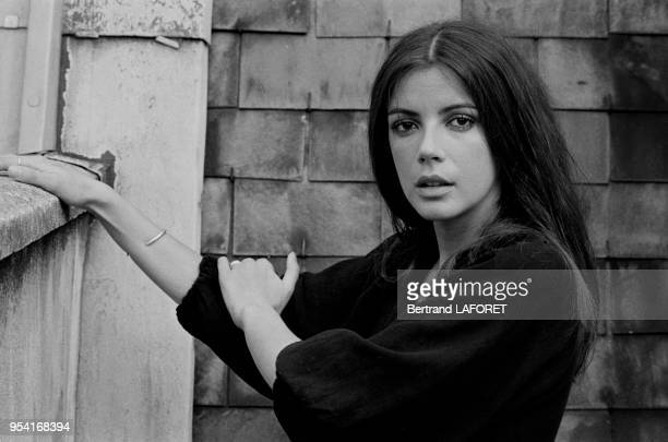 L'actrice Carole Laure en 1973 à Paris France