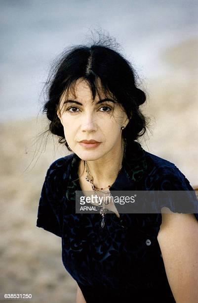 L'actrice Carole Laure le 6 juin 1998 à Cabourg France