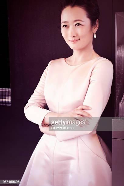 L'actrice chinoise Zhao Tao lors du 68ème Festival du Film Annuel de Cannes au Palais des Festivals le 20 mai 2015 Cannes France
