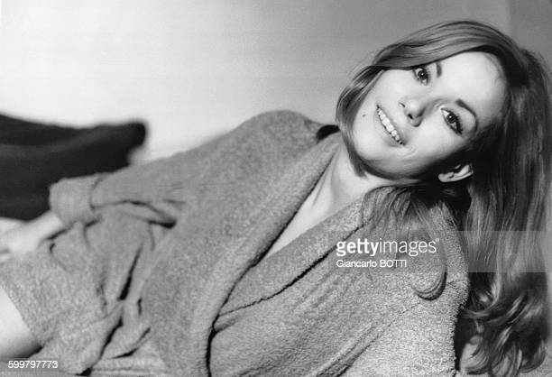 L'actrice Claudine Auger circa 1960