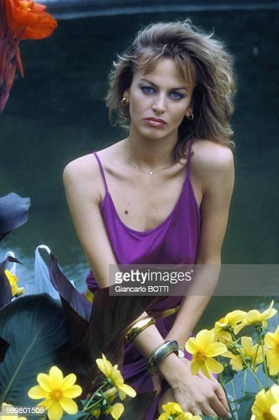 L'actrice Dalila Di Lazzaro circa 1970 en Italie