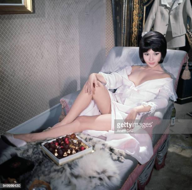 L'actrice Dany Carrel circa 1960 en France