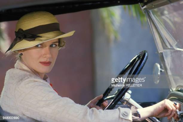L'actrice Dominique Sanda dans le film 'Le Matelot 512' réalisé par René Allio le 8 juillet 1984 en France