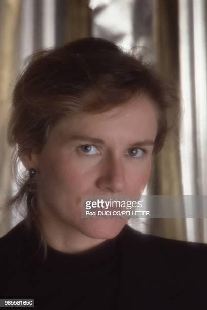 L'actrice Dominique Sanda le 13 mai 1987 à Cannes France