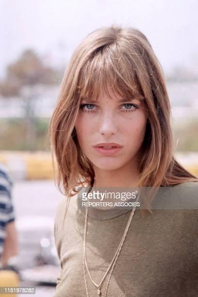 L'actrice et chanteuse Jane Birkin en 1969 France