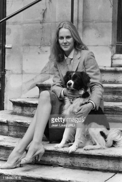 L'actrice française AnneMarie Philipe à Paris le 6 décembre 1979 France