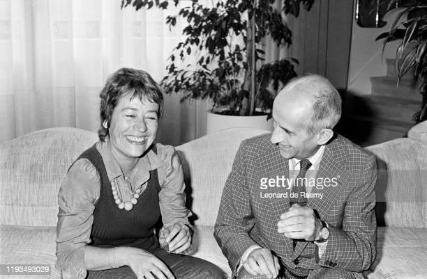 """Actrice française Annie Girardot et l'acteur français Louis de Funes vont jouer ensemble dans le film de Claude Zidi : """"La Zizanie"""" dont le tournage..."""