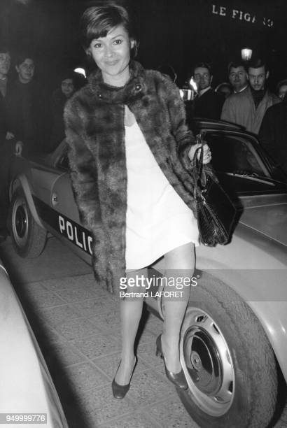 L'actrice française Dany Carrel lors de l'avantpremière du film Le Pacha en France