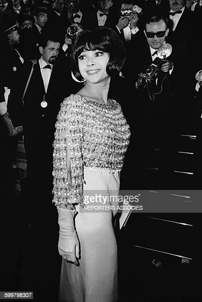 L'actrice française Dany Carrel lors d'un gala