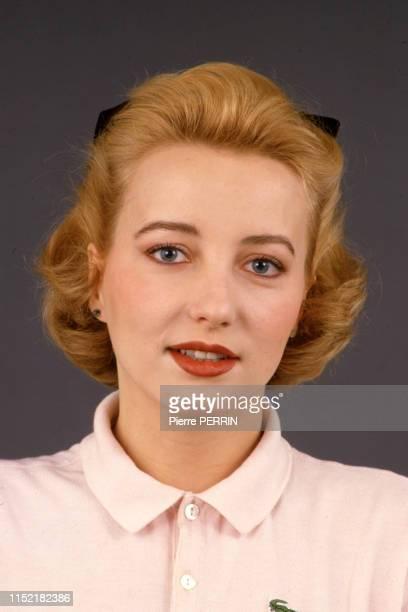 L'actrice française Pauline Lafont le 16 février 1985 à Paris France