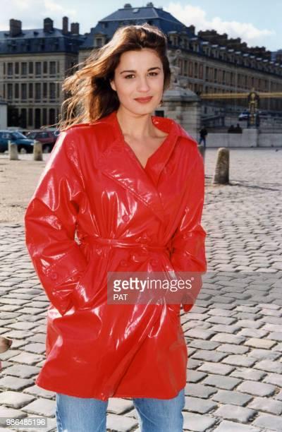 L'actrice Hélène Médigue en octobre 1996 à Versailles France