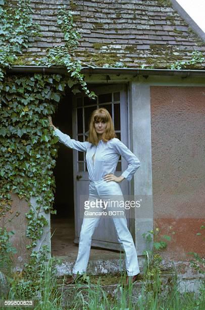Actrice Irène Tunc en mai 1967 en France .