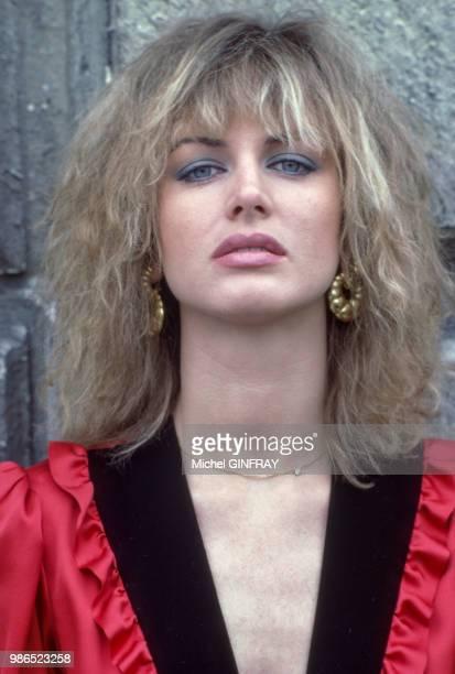 L'actrice italienne Dalila Di Lazzaro à Paris en juillet 1980 France