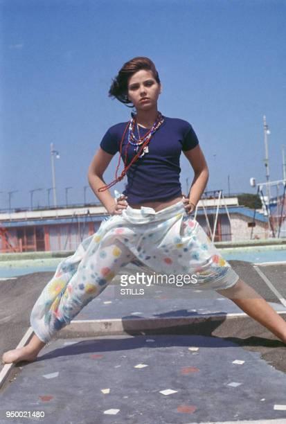 L'actrice italienne Ornella Muti dans les années 70 France Circa 1970