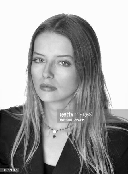 L'actrice Laure Marsac le 29 octobre 1993 à Paris France