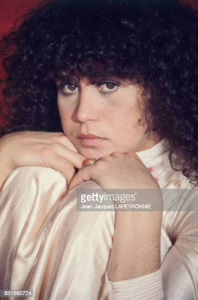 L'actrice Maria Schneider en janvier 1978 Italie