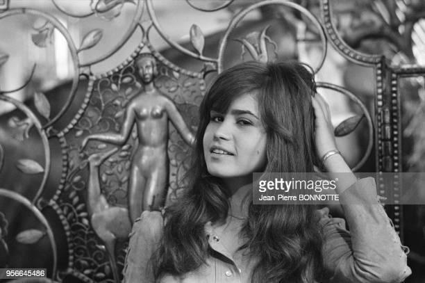 L'actrice Maria Schneider en septembre 1970 en France