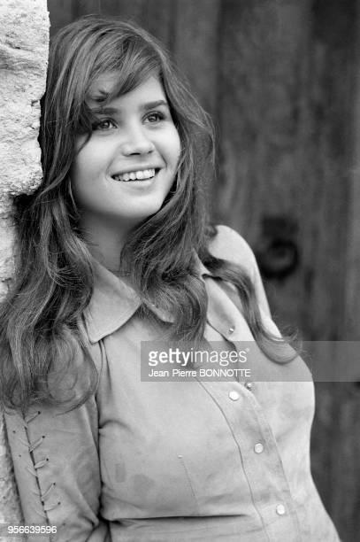 L'actrice Maria Schneider en septembre 1970 France