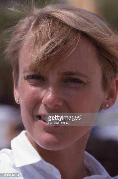 L'actrice Mary Beth Hurten mai 1985 à Cannes France