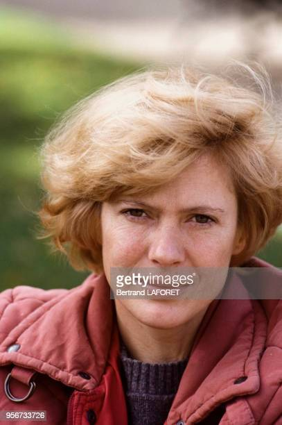 L'actrice Mimsy Farmer le 10 octobre 1982 France