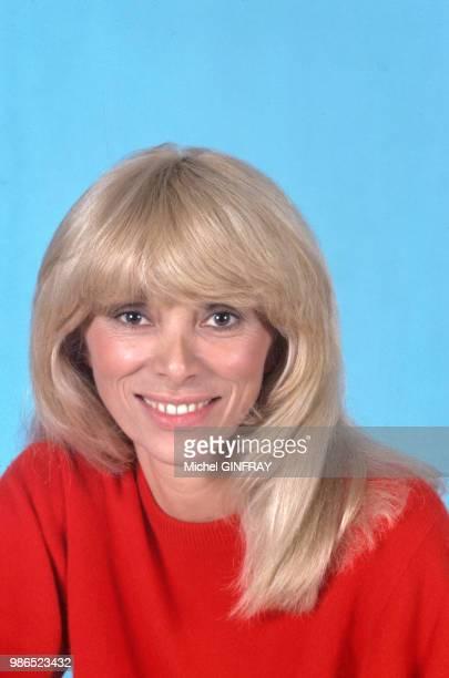 L'actrice Mireille Darc à Paris en septembre 1981 France