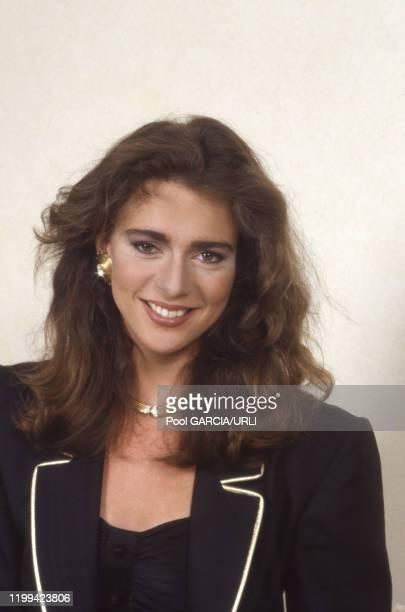L'actrice néerlandaise Maruschka Detmers lors du Festival de Cannes en mai 1988 France