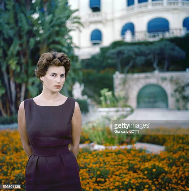 L'actrice Silvana Mangano circa 1960 en Italie