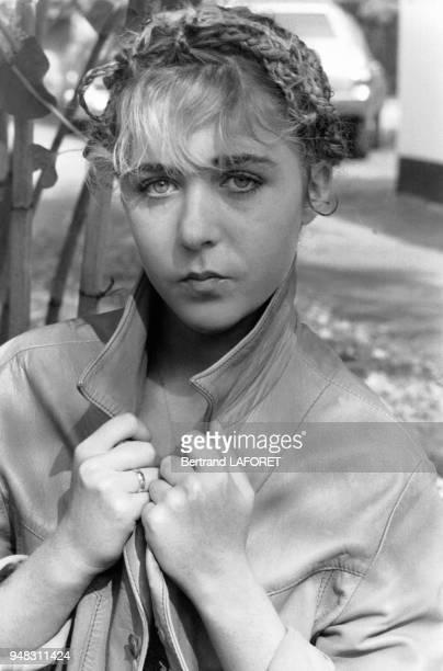 L'actrice suisse Anne Bennent joue 'Lulu' dans le film de Borowczyk le 1r octobre 1979 à Berlin Allemagne