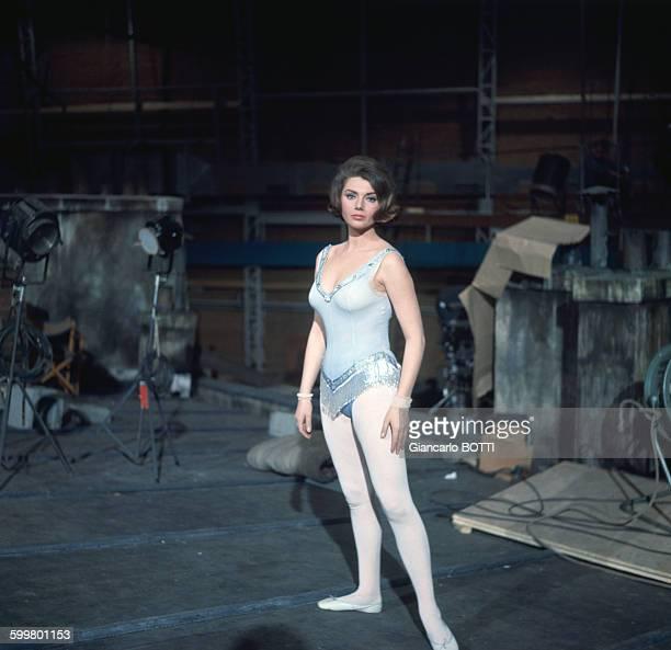 L'actrice Sylva Koscina circa 1960 en Italie