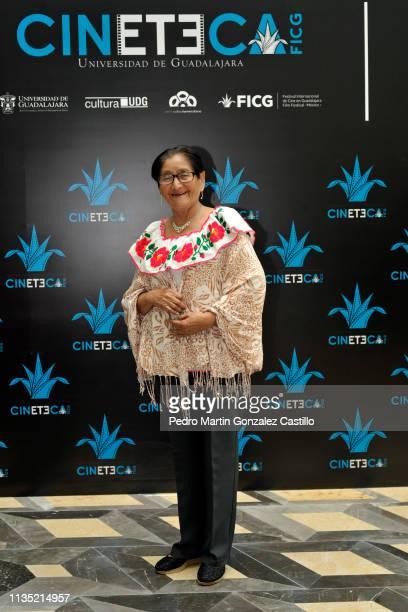Actriz Odorica Vega Hernandez of the movie 'At Anii' Tu Amante pose during the 34th Guadalajara International Film Festival at the Performing Arts...