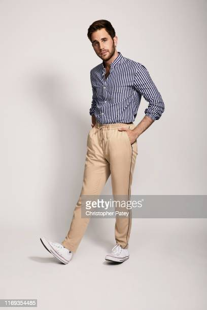 Actror Ben Platt poses for a portrait at Netflix's junket for 'The Politician' Season One at the Belmont El Encanto, in Santa Barbara, California on...
