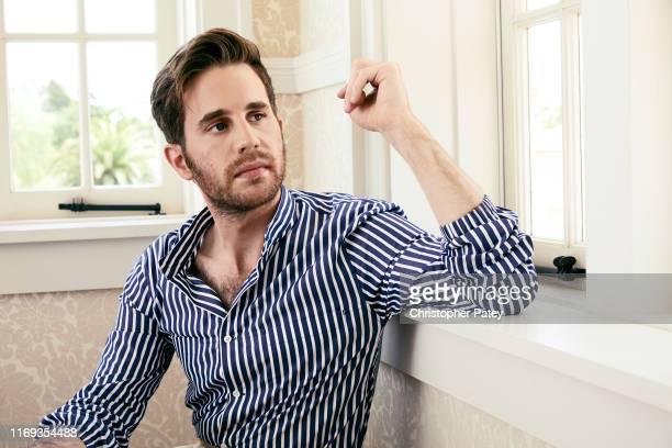 Actror Ben Platt poses for a portrait at Netflix's junket for 'The Politician' Season One at the Belmont El Encanto in Santa Barbara California on...