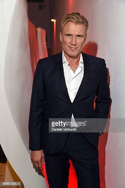 Actror Dolph Lundgren attends Cocktail Party Celebrating 1th Taormina Film Fest Los Angeles 2016 at Italian Cultural Institute Of Los Angeles on...