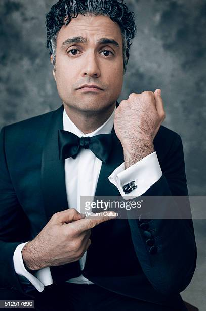 Actror Jaime Camil poses for a portrait at the 18th Costume Designers Guild Awards at The Beverly Hilton Hotel on February 23 2016 in Beverly Hills...