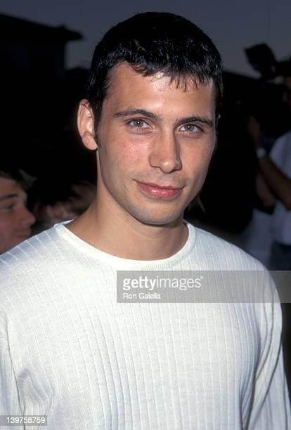 Actror Jeremy Sisto attends the premiere of 'Excess Baggage' on August 25 1997 at Mann Village Theater in Westwood California