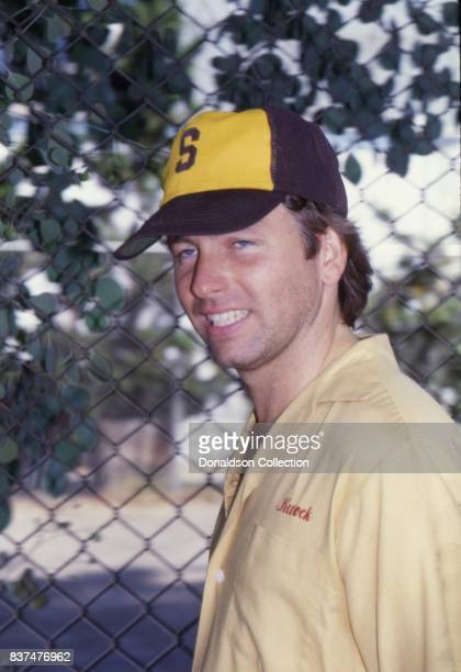 Actror John Ritter attends SAG and AFTRA Actors On Strike in circa 1980 in Los Angeles California