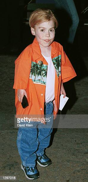 Actror Josh Ryan Evans poses while attending the after party for the premiere of Star Wars Episode II Attack of the Clones May12 2002 in Los Angeles...