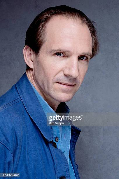 Actror Ralph Fiennes is photographed at the Toronto Film Festival on September 10 2013 in Toronto Ontario