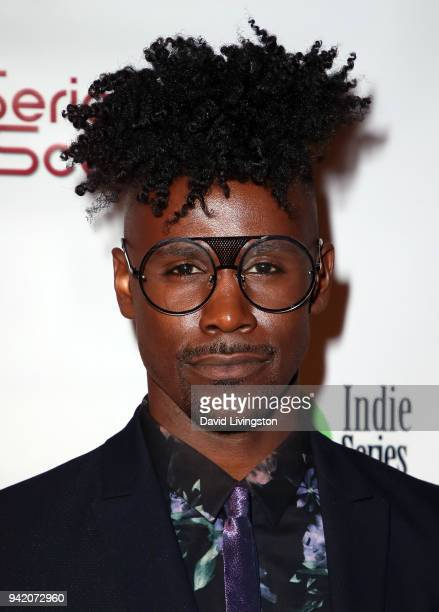 Actror Sean Samuels attends the 9th Annual Indie Series Awards at The Colony Theatre on April 4 2018 in Burbank California