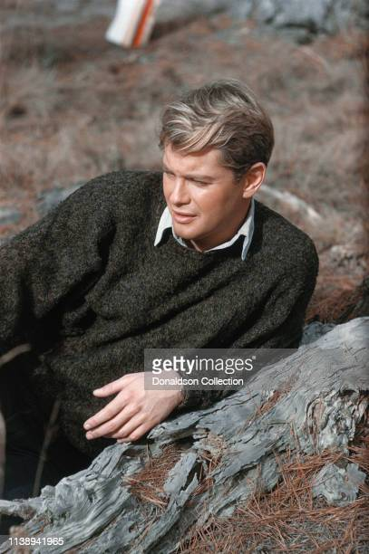 Actror Troy Donahue poses for a portrait session in 1960 in San Francisco California