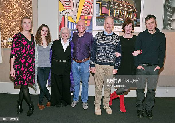Actrors Karen Young, Portia Reiners, Rebecca Schull, director/writer Jeff Lipsky, actorsReed Birney; Julianne Nicholson, and Jamie Harrold attend a...