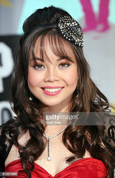 Actrress Anna Maria Perez de Tagle attends the premiere of Camp Rock on June 11 2008 in New York